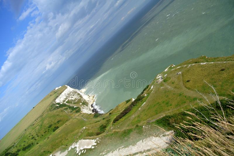 Dover White Cliffs photographie stock