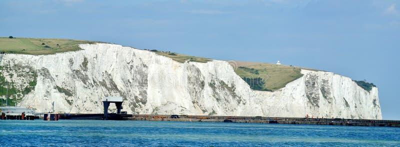 Dover White Cliffs arkivfoto