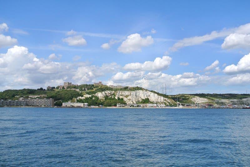 Dover White Cliffs arkivfoton