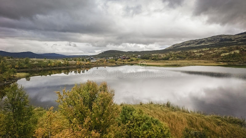 Dovrefjell†'Sunndalsfjella park narodowy zdjęcia stock
