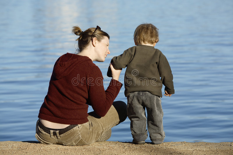 Down By The Lake Royalty Free Stock Image
