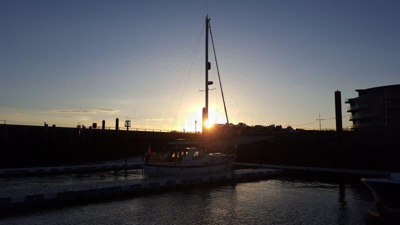 Down Sails royalty free stock photos