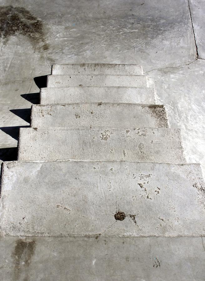 Down Stairs Free Stock Photography