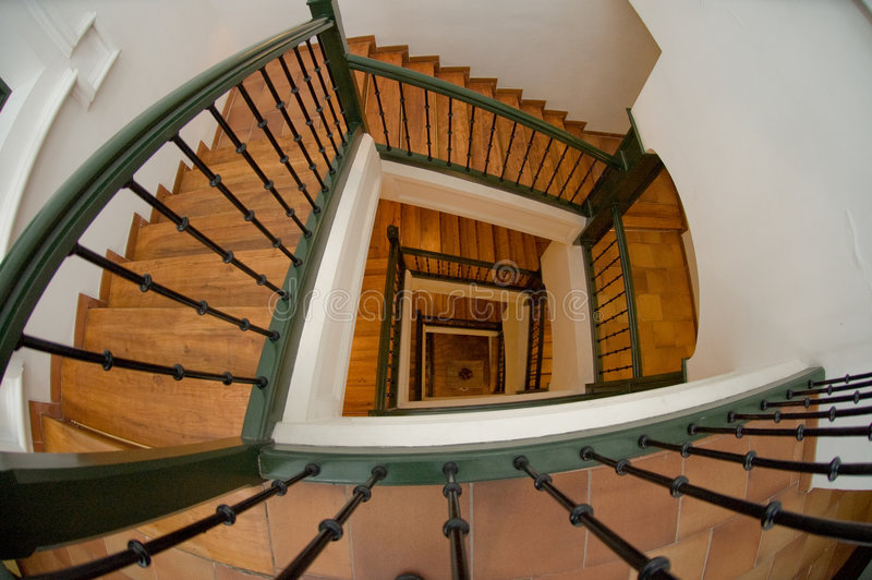 Download Down the stairs stock image. Image of stately, banister - 5072941