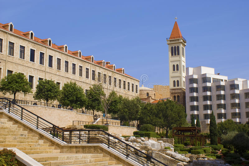 Download Down Town Beirut stock photo. Image of solidaire, mediterranean - 14017084