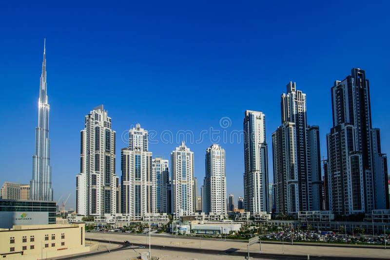 Down town Dubai,UAE royalty free stock image