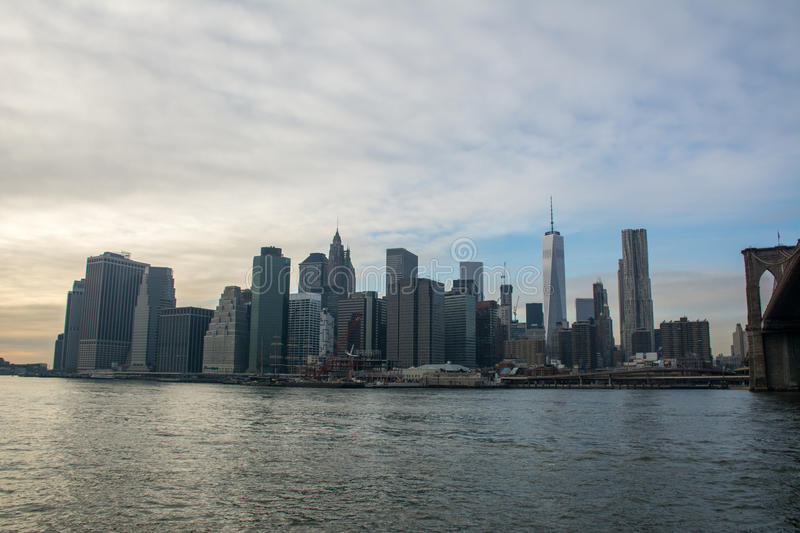 Down Town Manhattan, New York royalty free stock photography