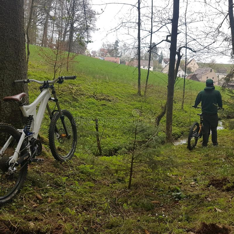 downhill photographie stock