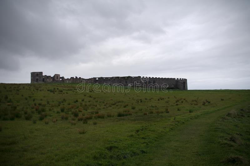 Downhill Demesne a old ruin royalty free stock image