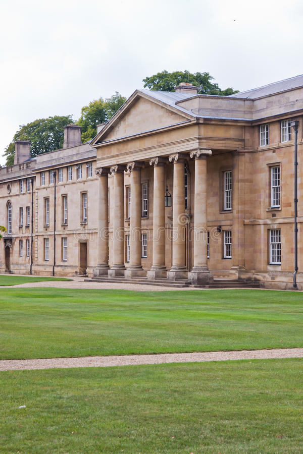 Downing college, Cambridge university royalty free stock images