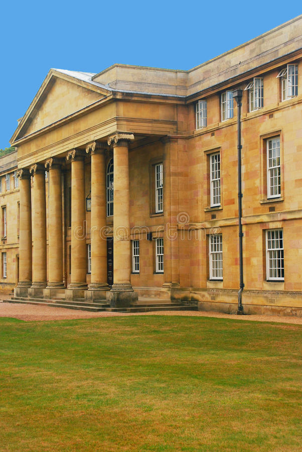 Download Downing College Chapel stock image. Image of facade, large - 32202955