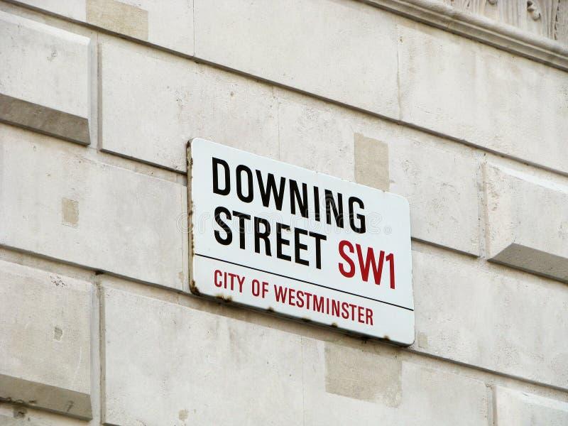 Downing Street 1 fotos de archivo