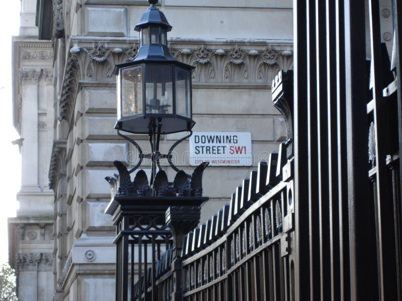 Downing Street foto de stock royalty free