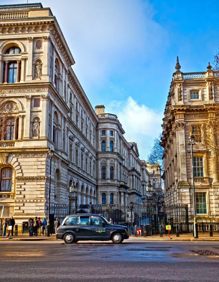 Downing Street stock afbeeldingen