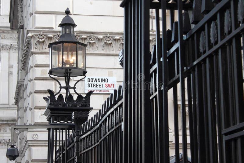 Downing Street imagen de archivo