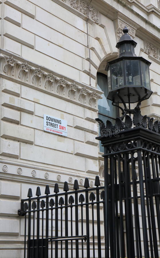 Downing Street images libres de droits