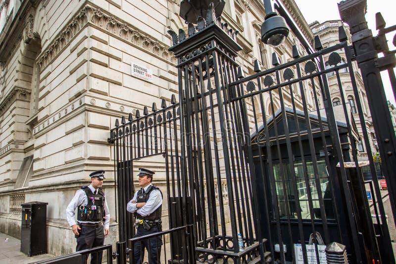 10 Downing Street London stockbilder