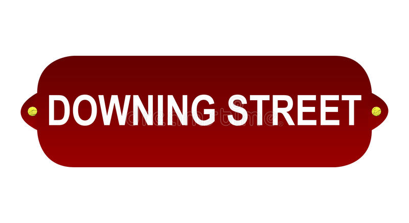 Download Downing Street Sign Royalty Free Stock Photos - Image: 14268888