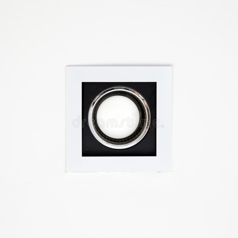 Downlight or Ceiling light stock images