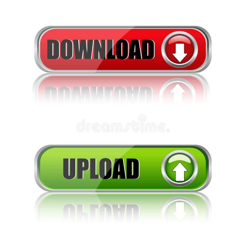 download кнопок бесплатная иллюстрация