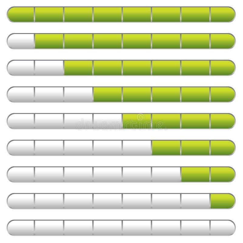 Download Download bar green stock vector. Illustration of transfer - 10974740