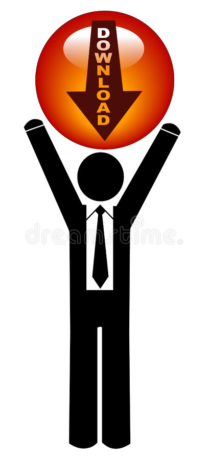 Download Download business icon stock vector. Image of ball, button - 6718409