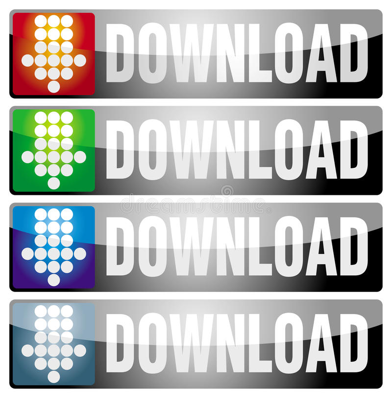 Download Download Button Stock Photos - Image: 15352023