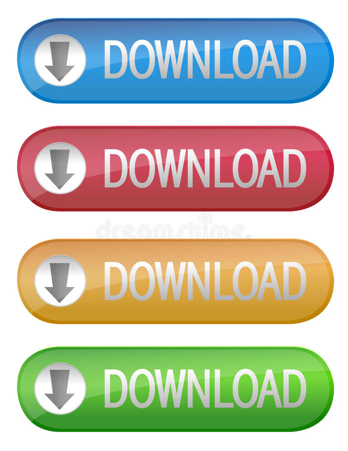 Download Download Button stock vector. Image of download, vector - 15594058