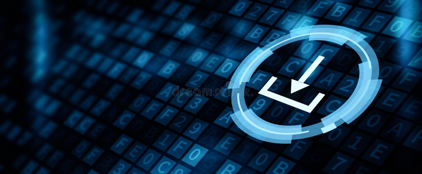 Download Data Storage Business Technology Network Concept.  royalty free stock photo