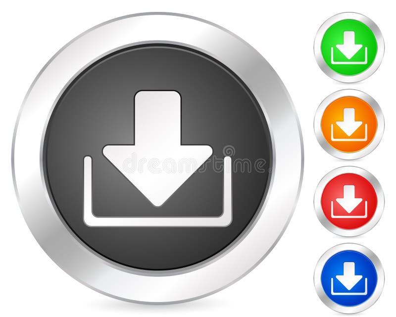 Download do ícone do computador ilustração royalty free