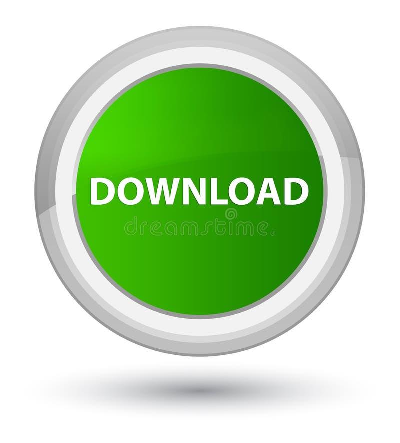 Download eerste groene ronde knoop royalty-vrije illustratie