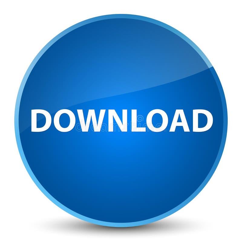 Download elegante blauwe ronde knoop royalty-vrije illustratie