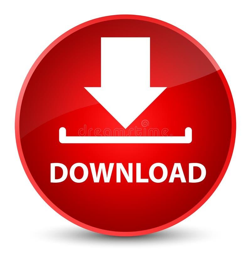 Download elegante rode ronde knoop vector illustratie