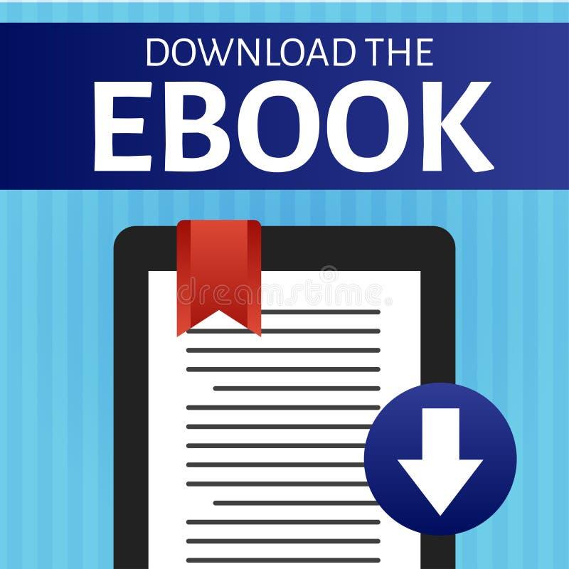 Download Grafische Ebook vector illustratie