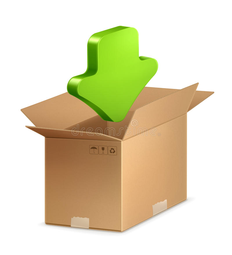 Download Download icon stock vector. Image of download, delivery - 24548691