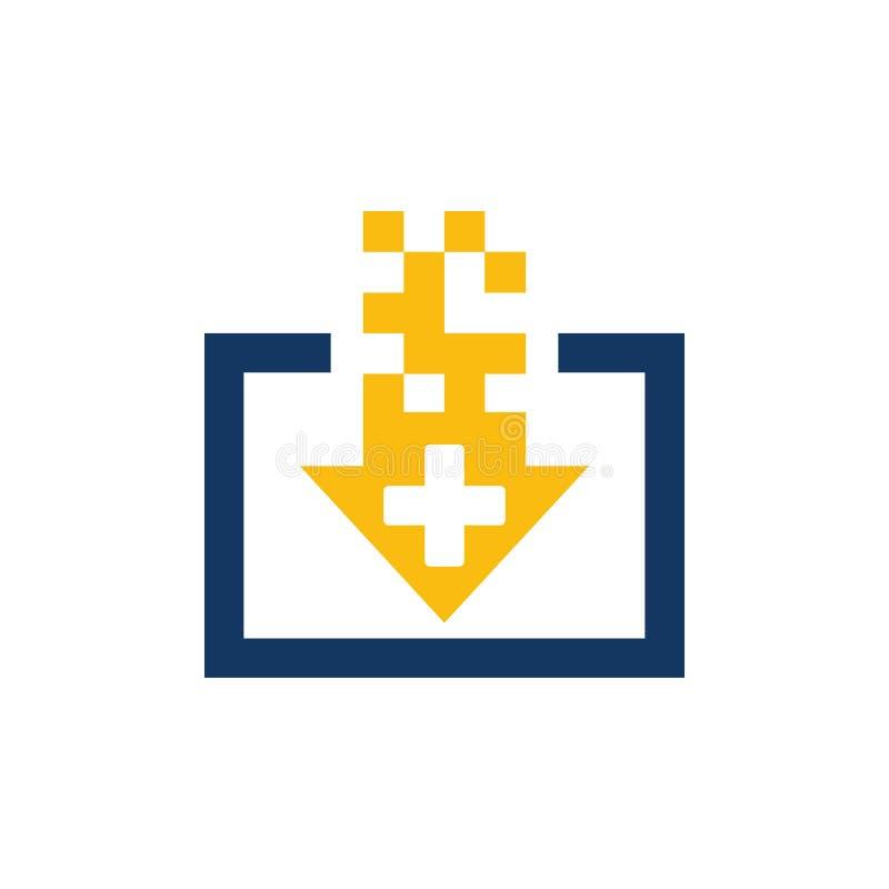 Download Medisch Logo Icon Design vector illustratie