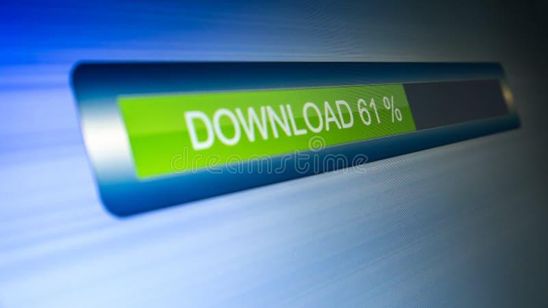 Download progress stock photos