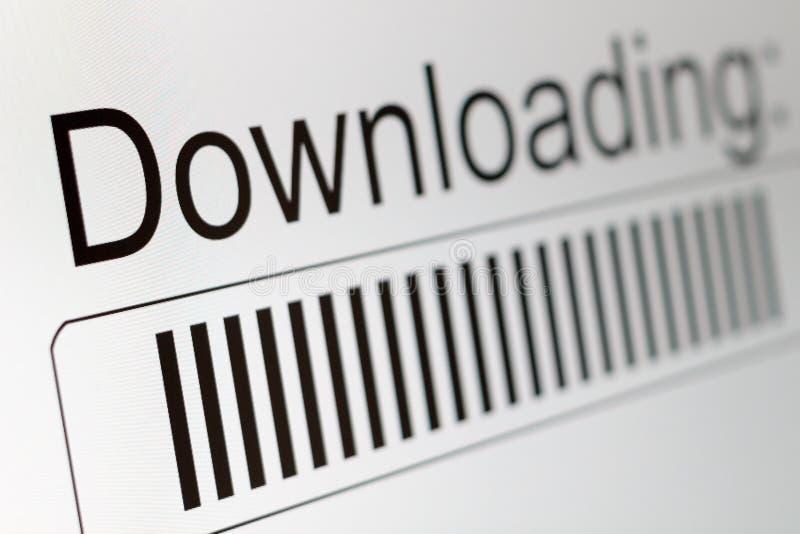 Download-Prozessstange lizenzfreies stockbild