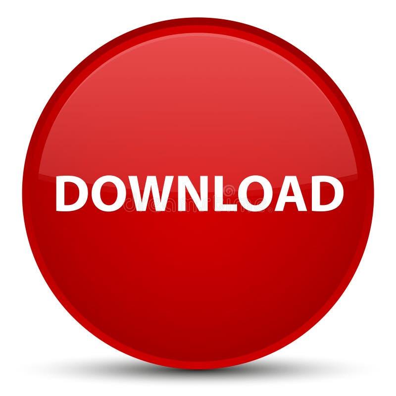 Download speciale rode ronde knoop royalty-vrije illustratie
