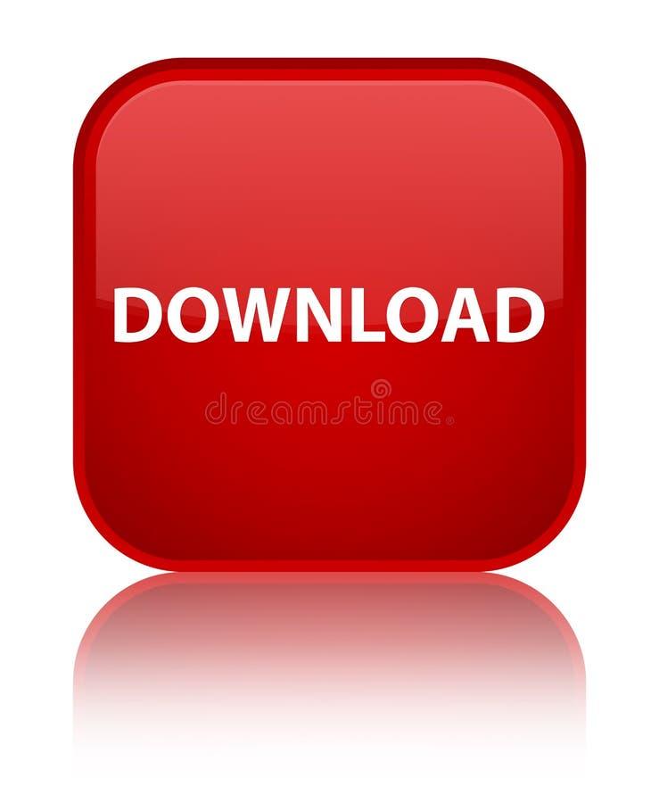 Download speciale rode vierkante knoop royalty-vrije illustratie