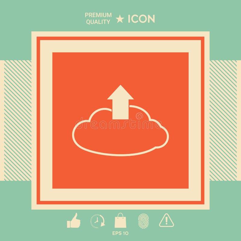 Download van de wolk vector illustratie