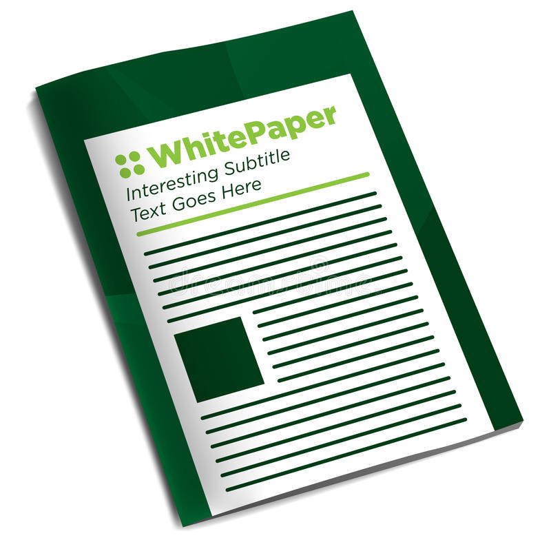 Download the Whitepaper or Ebook Graphic stock illustration