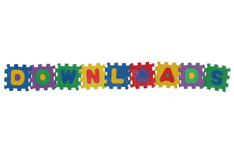Download Downloads ilustração stock. Ilustração de forma, enigma - 12809667