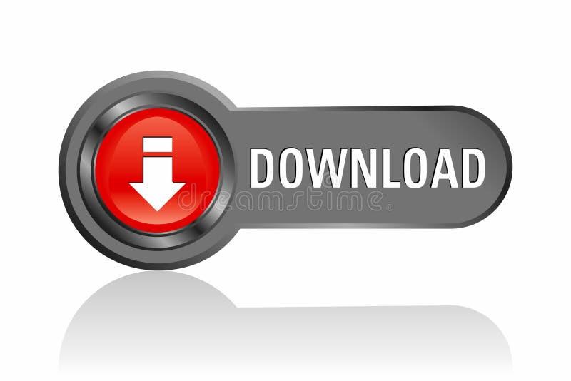 Downloadtaste lizenzfreie abbildung