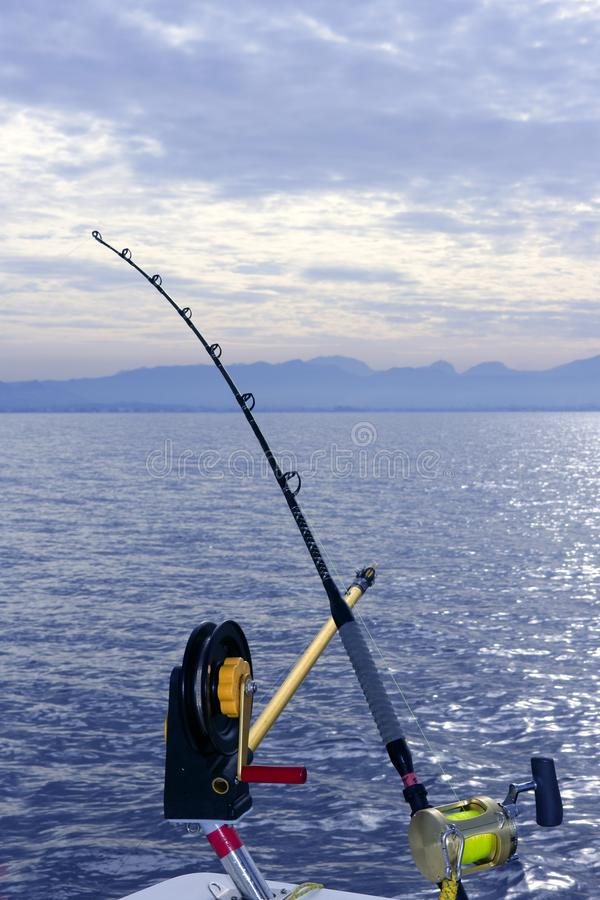 Download Downrigger Boat Gear Saltwater Trolling Tackle Stock Photo - Image: 13066442
