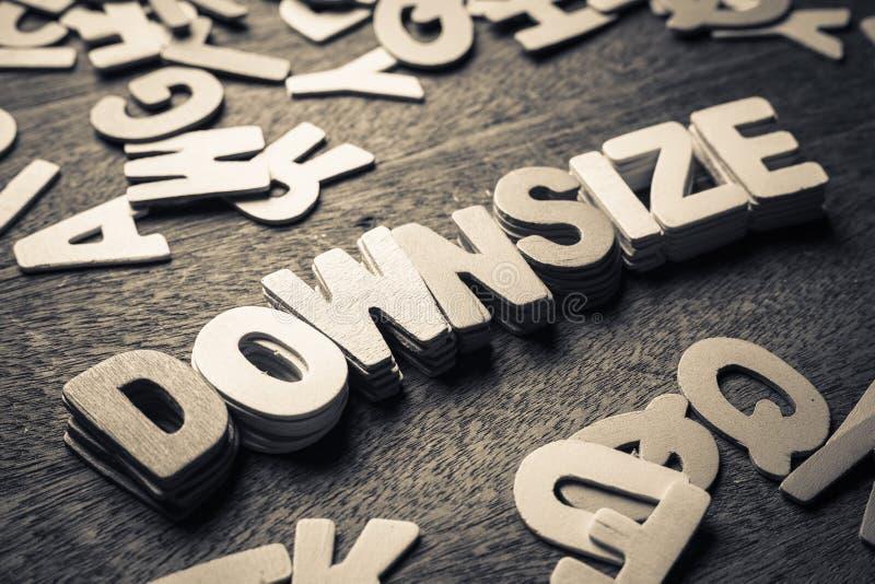 Downsize royalty free stock image