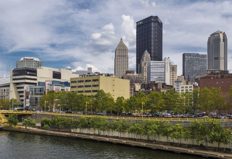 Downtonw Pittsburgh fotografía de archivo libre de regalías