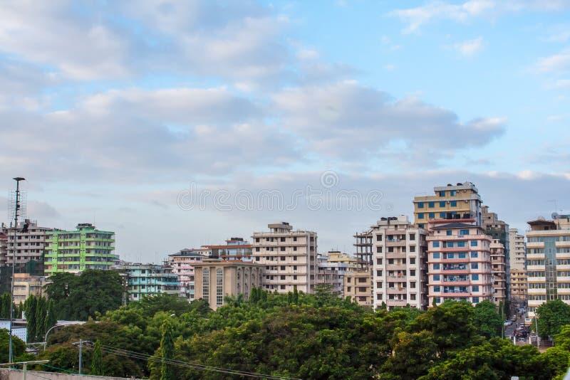Downtowm Dar Es Salaam images stock
