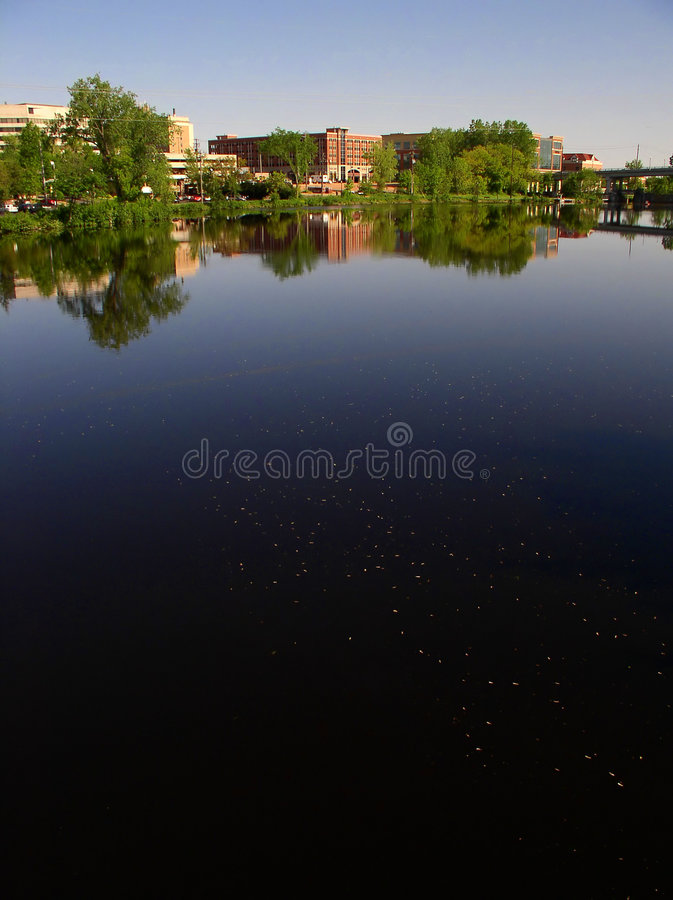 Download Downtown stock photo. Image of reflection, life, cityscape - 4894