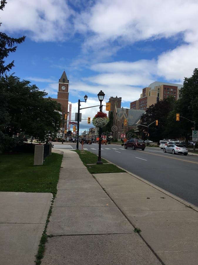 downtown photo stock